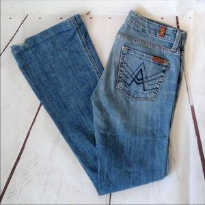 Size 28 • 7 For All Mankind Jeans